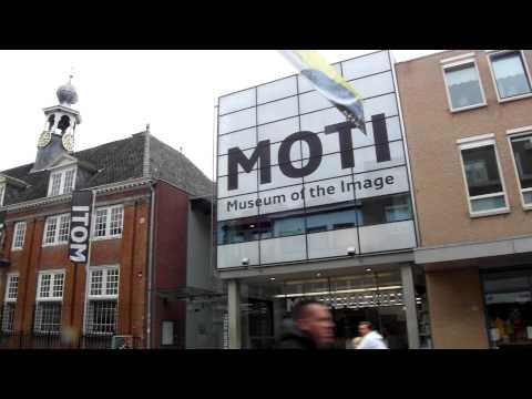 Centrum Breda met het Museum Of The Image, het MOTI.