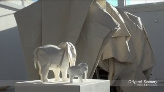 WHITE ELEPHANT Origami, Sipho Mabona SWITZERLAND 折り紙 Part 5