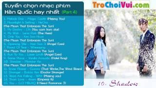 Tuyển chọn nhạc phim Hàn Quốc hay và lãng mạn nhất (Part 4)