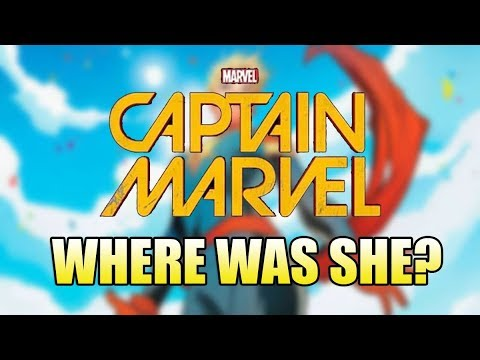Where was Captain Marvel in The Avengers?