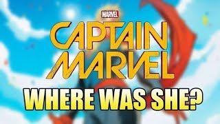Where was Captain Marvel in The Avengers?