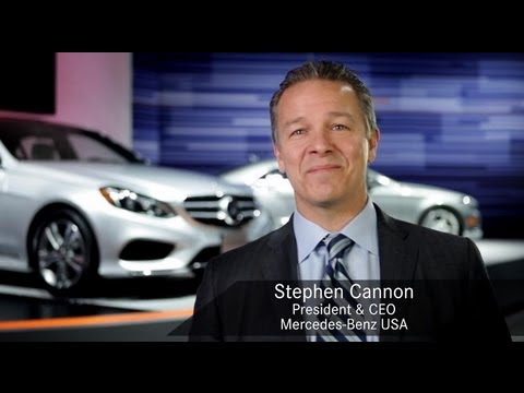 mercedes benz usa president ceo stephen cannon address