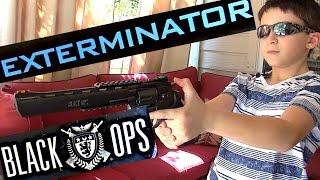 Robert-Andre's Black Ops Exterminator CO2 BB Revolver!