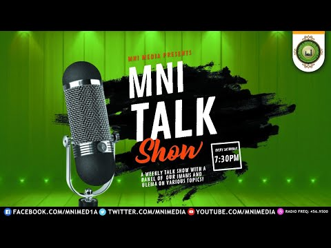 MNI talk show - Love of The Prophet (Peace be upon Him)