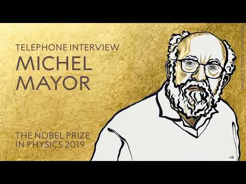 "Michel Mayor: ""Very nice connection, very nice surprise!"""