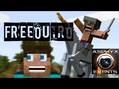 Minecraft Outro Template + Download [Sony Vegas Pro 11]