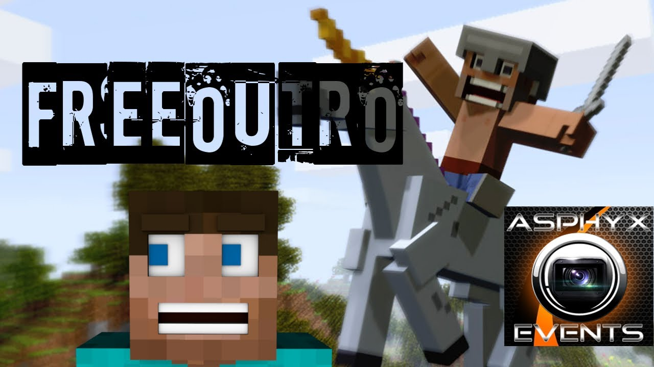 minecraft outro template movie maker - minecraft outro template download sony vegas pro 11