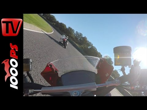Ducati Monster 1200 R 2016 | Onboard Ascari Racetrack