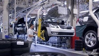 Skoda Octavia Production