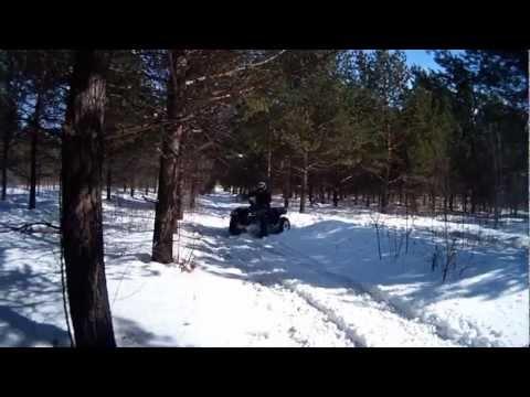 31.03.2013 Покатушки на квадроцикле ADLY ATV 600
