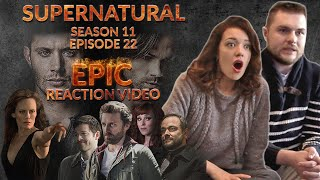 "Supernatural Season 11 Episode 22 ""We Happy Few"" 