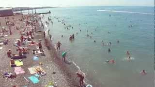 Август. Море. Сочи. Хоста. Все на пляж!(Хоста. Сочи. Пляж. Август., 2012-03-02T17:04:38.000Z)