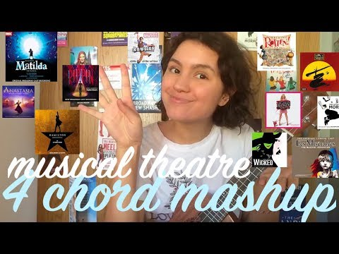 4 chords, a Helluva Lot of musical theatre songs!