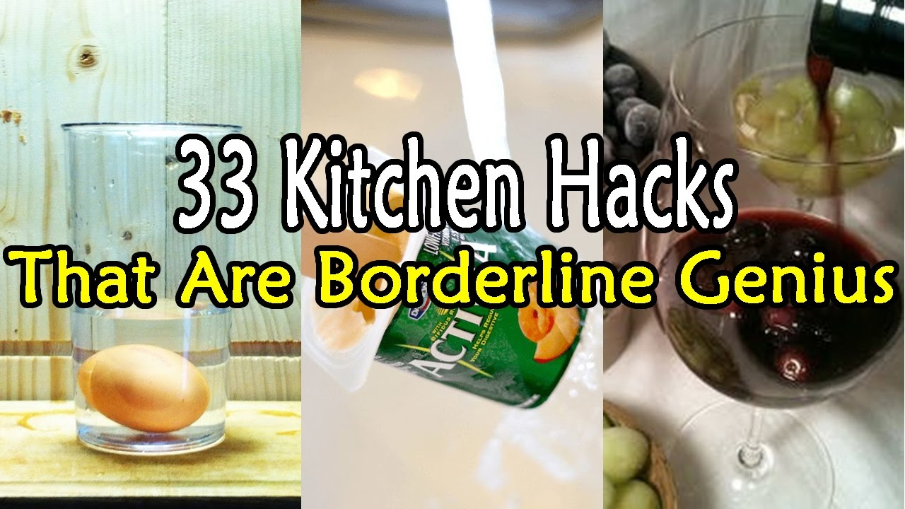 33 Kitchen Hacks That Are Borderline