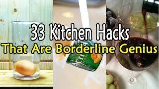 33 Kitchen Hacks That Are Borderline Genius