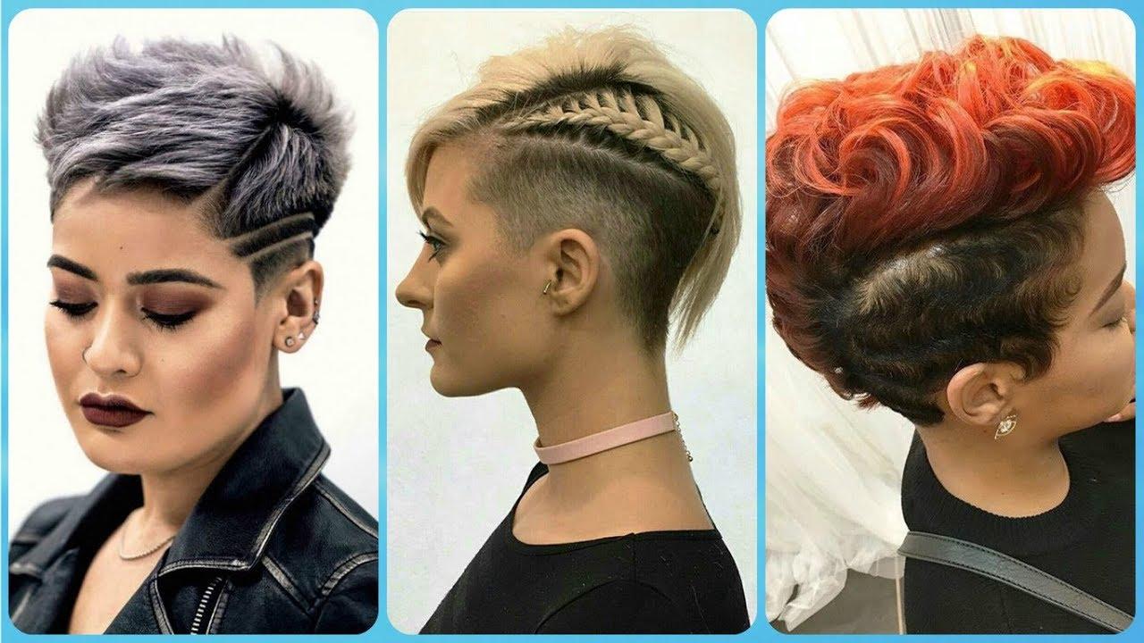 Taglio di capelli corti donne 2019