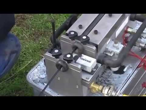 Bagela Miniflow Blowing-in of Fibre optic Cable / Einblasen von Glasfaserkabel