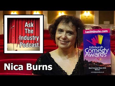 EP89 – Nica Burns – The secrets behind the Edinburgh Fringe Newcomer Award