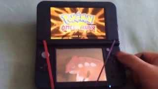 How to soft reset for a shiny starter pokemon in omega ruby and alpha sapphire
