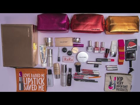 Colorbar makeup products for bridal kit. Awesome for every skin type. Must watch n share please