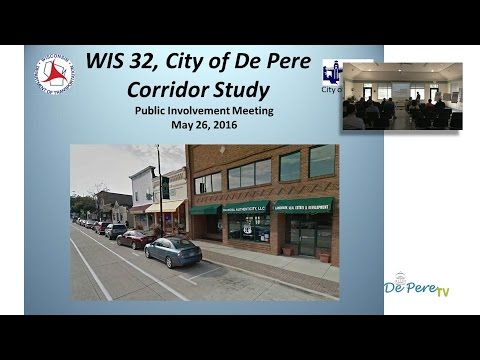 WIS Hwy 32 Public Involvement Meeting - May 26, 2016