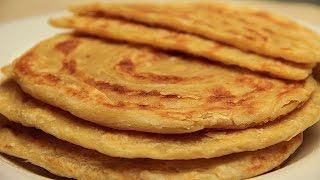 Tahinli Katmer Tarifi - Tereyağlı Kat Kat Tavada Ekmek