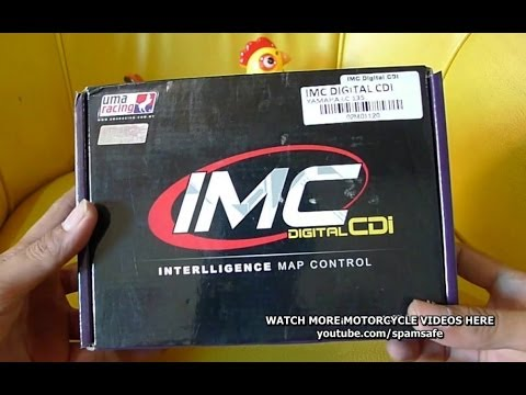 UNBOXING: Uma Racing CDI (Intelligent Map Control IMC