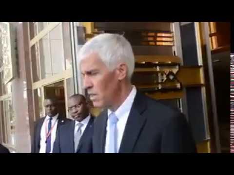 Cameroon : US Ambassador visits Unity Palace ahead of National Unity Day