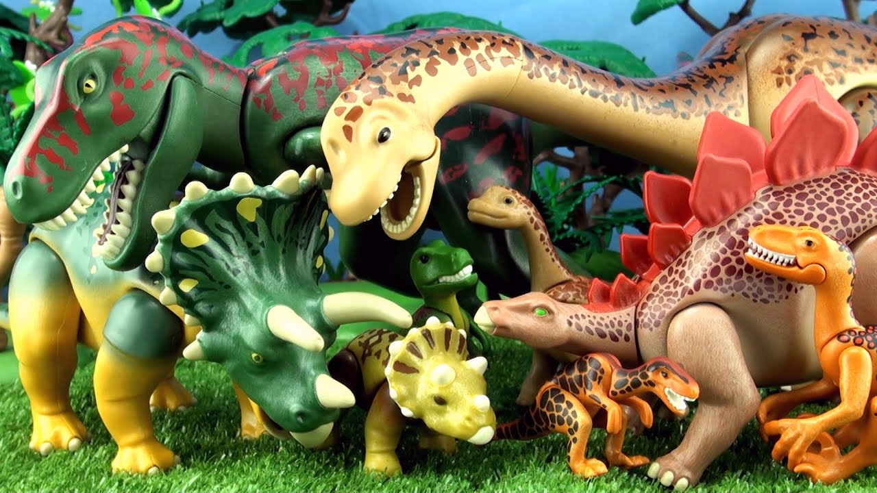 10 playmobil dinosaur toys mother and baby dinosaurs - Dinosaur playmobile ...