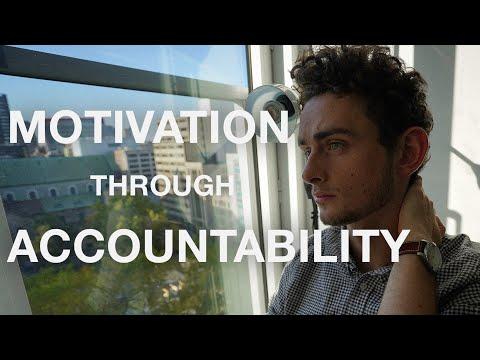 Finding Motivation Through Accountability