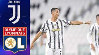 Ювентус Лион Лига Чемпионов 1 8 финала 07 08 2020 Обзор FIFA Ванга