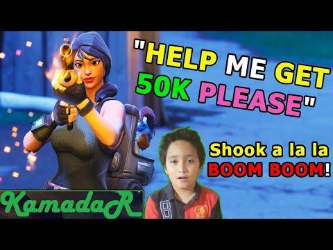 help me get to 50k kamadar plays fortnite live - fortnite 50k