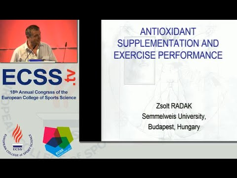 Antioxidant Supplementation and Exercise Performance - Prof. Radak