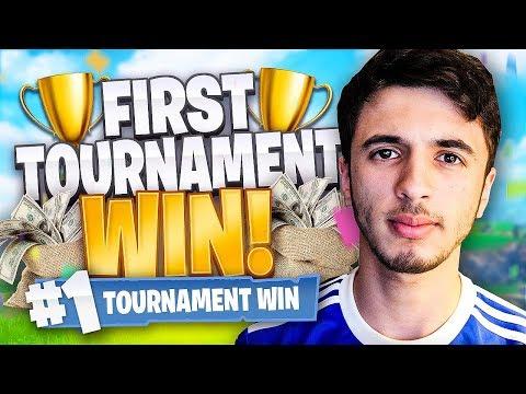 I Won My First PRO Fortnite Tournament! - Fortnite Battle Royale