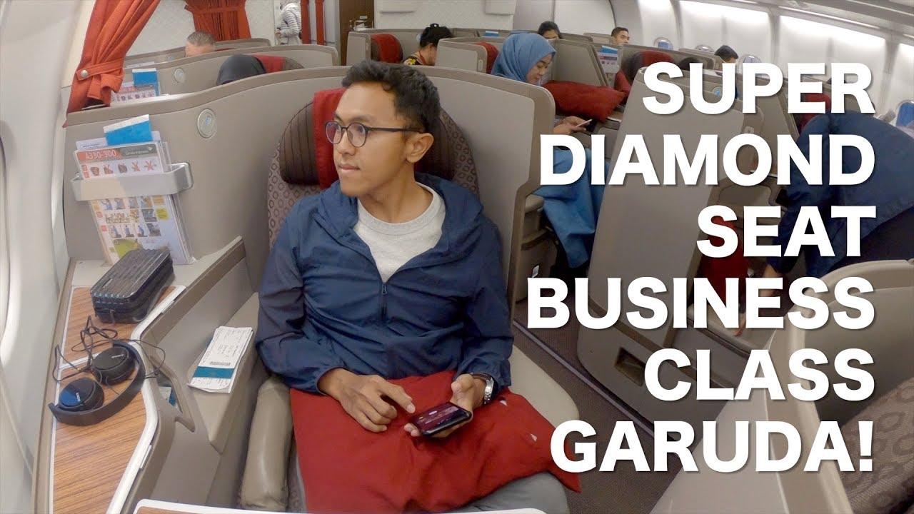 First Class Garuda Indonesia Jakarta London B777 300 Review Youtube