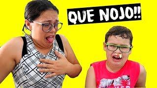 O MENINO (DESOBEDIENTE) FICOU CATARRENTO!