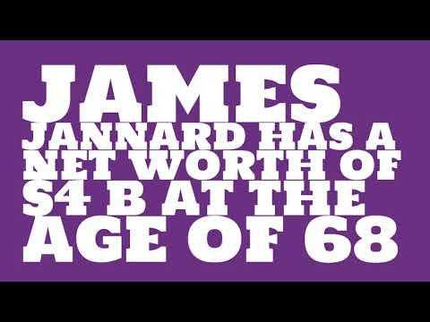 How rich is James Jannard?
