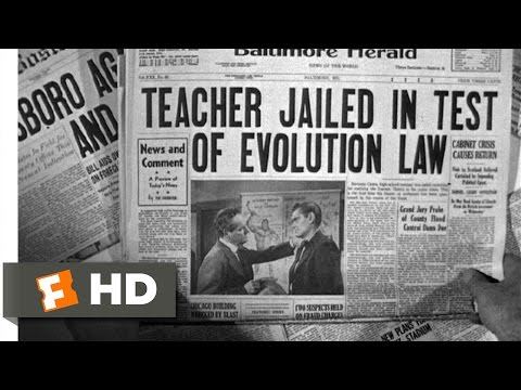 Inherit the Wind (1960) - Arrested for Teaching Darwin Scene (1/12) | Movieclips