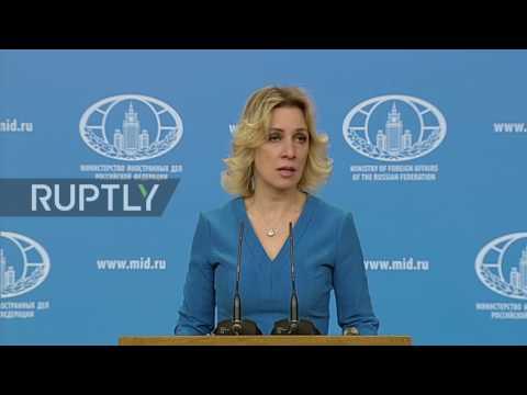 Russia: Zakharova slams western media