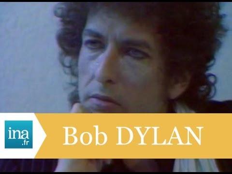 Bob Dylan interviewé par Antoine de Caunes - Archive INA