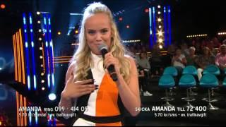 Amanda Winberg - Fancy - Idol Sverige (TV4)