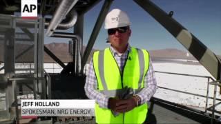 Huge Solar Plant Opens In Mojave Desert