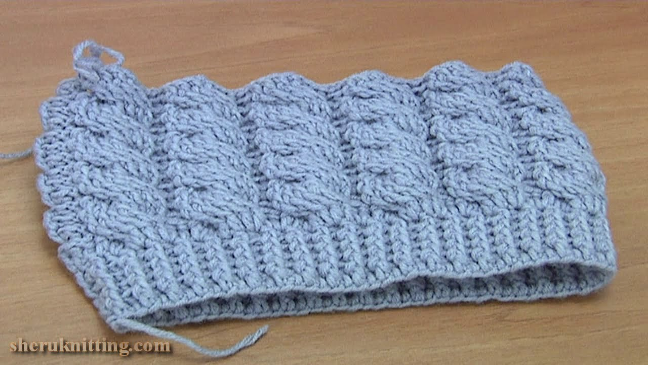 Crochet Cable Hat Tutorial 262 - YouTube 669848d181f