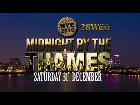 Midnight on the Thames - NYE 2016