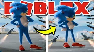 FIXING Sonic The Hedgehog In ROBLOX!! | Comment être SONIC à Robloxian Highschool