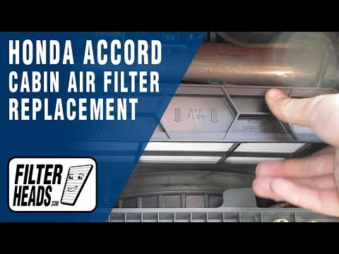 How to Replace Cabin Air Filter 2007 Honda Accord