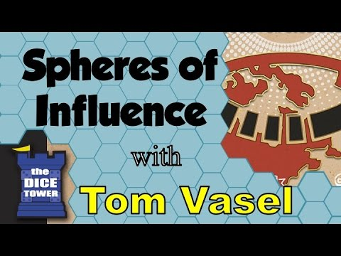 Spheres of Influence Review - with Tom Vasel
