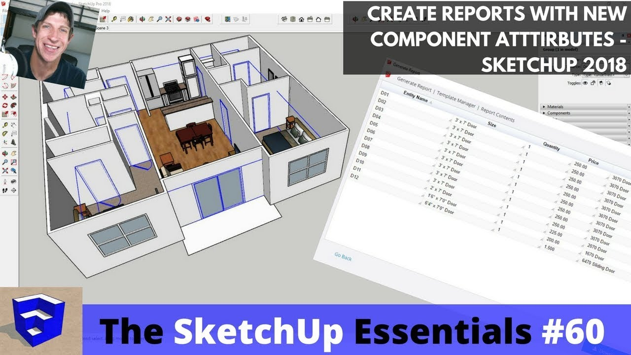 how to use sketchup 2018