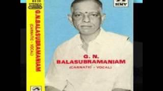 Shri G N Balasubramaniam  - Kalambodara Kanti Kantamanisham - Ragamalika - Rama Rahasya Upanishad