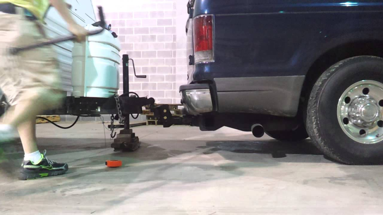 Adjustable Ball Hitch >> How to use a weight distribution hitch - YouTube